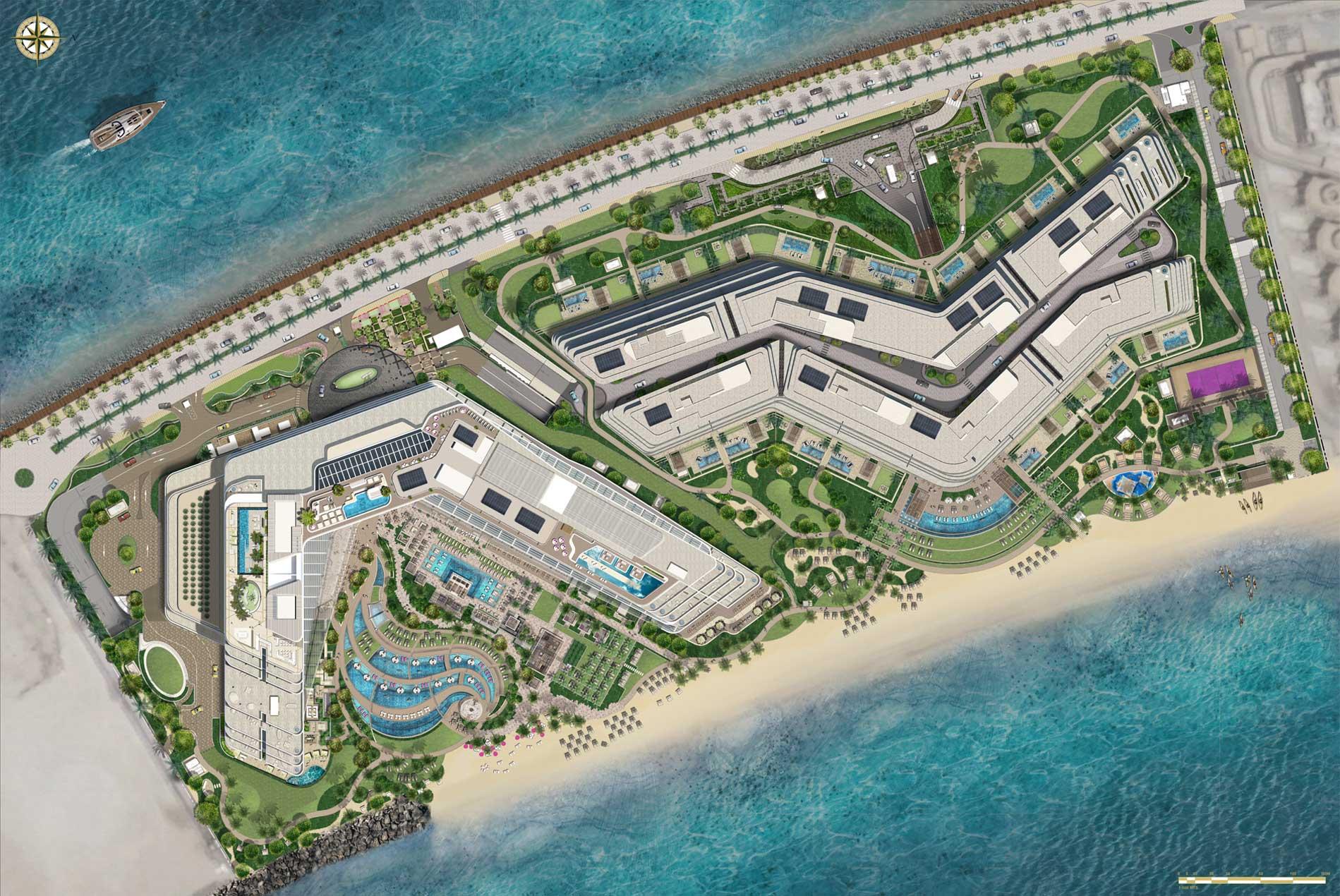 W Hotel And Residence Palm Jumeirah Landmark Studios